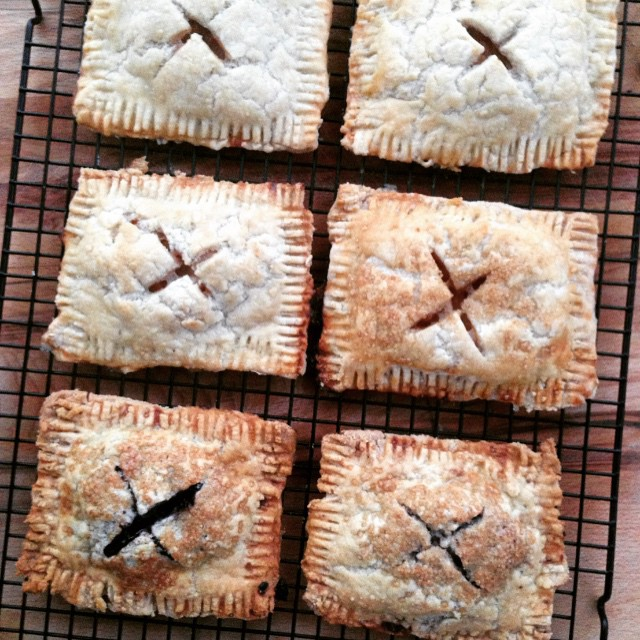 Apple And Blueberry Pie Tarts