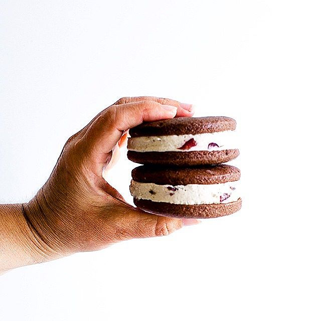 Chocolate Ice Cream Sandwiches
