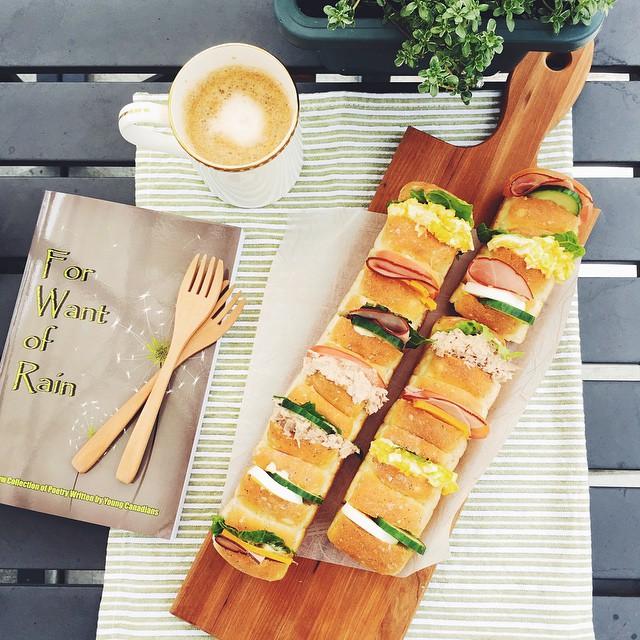 Pull Apart Mini Sandwiches