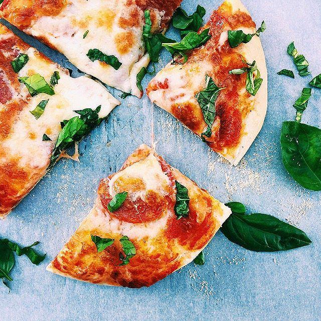 Beer Crust Basil Pizza