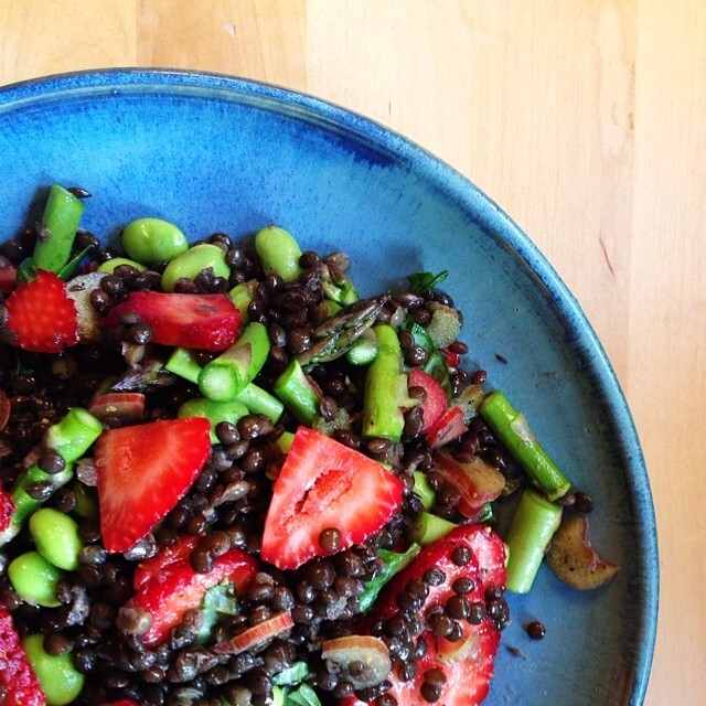 Maple Tossed Beluga Lentil Salad By Kattancock Quick Easy Recipe The Feedfeed