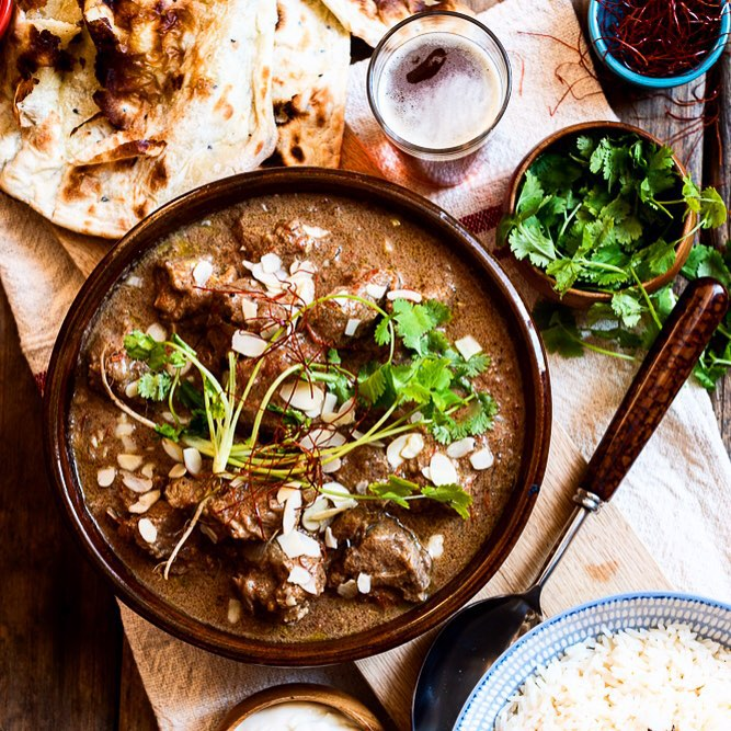 Lamb Curry With Yogurt Marinade