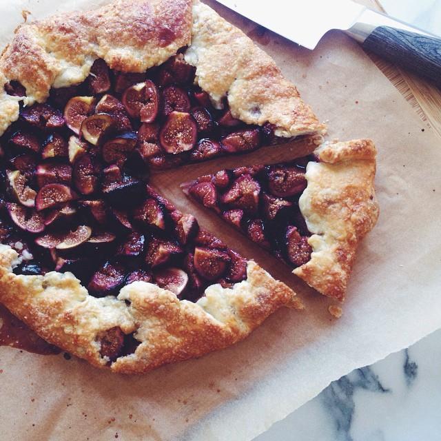 Brown Sugar Fig Galette