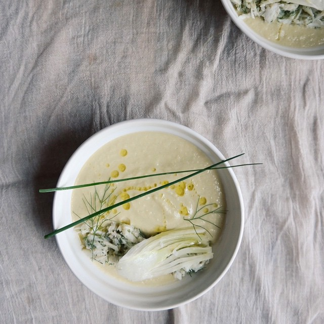 how to make easy fennel soup