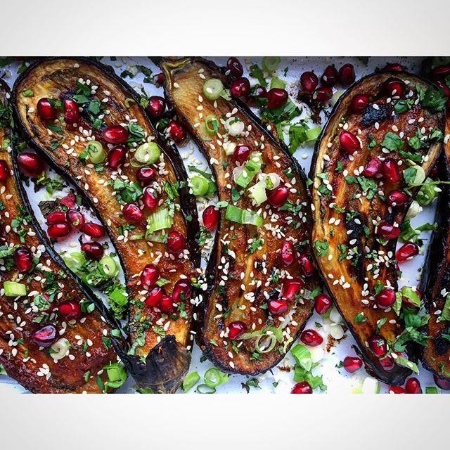 Ginger And Miso Glazed Eggplant • aupairinthekitchen