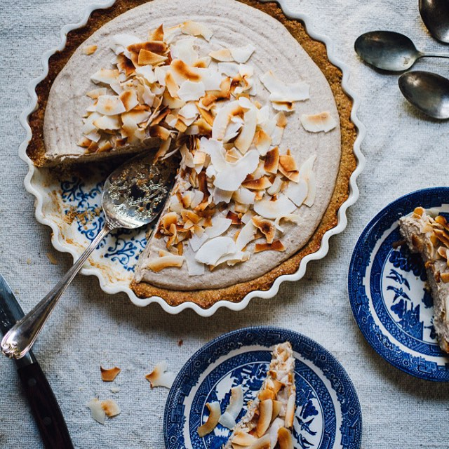Silky Coconut Cream Pie