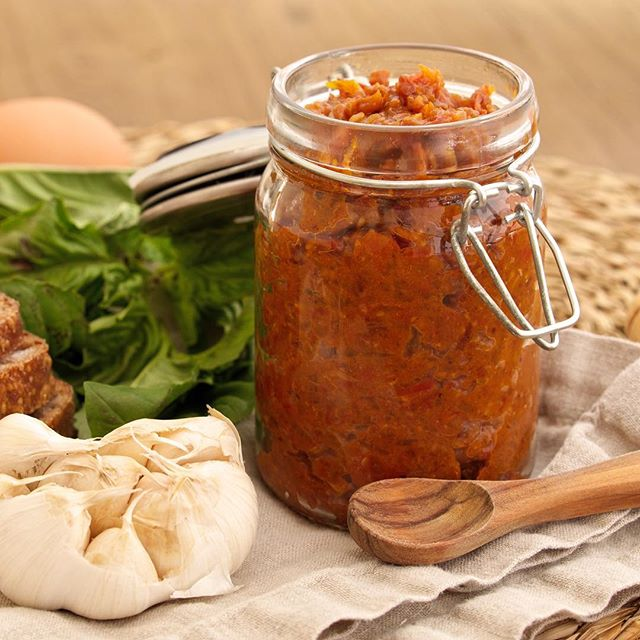 Chilli Tomato Jam With Bacon & Maple Syrup