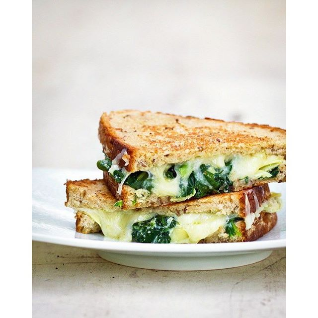 TBT to spinach artichoke grilled cheese, A Couple Cooks circa 2012.