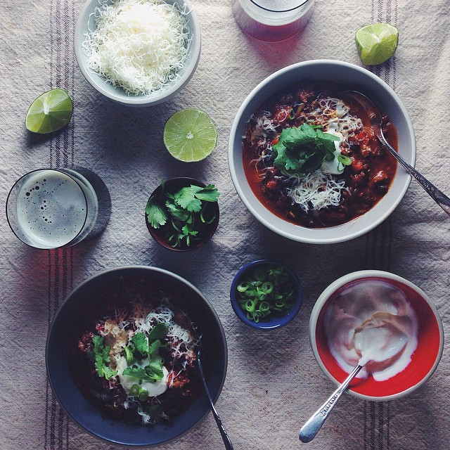 Beef & Black Bean Chili