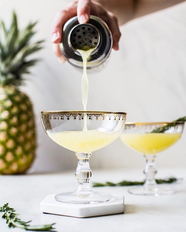 Pineapple Ginger Tequila Punch