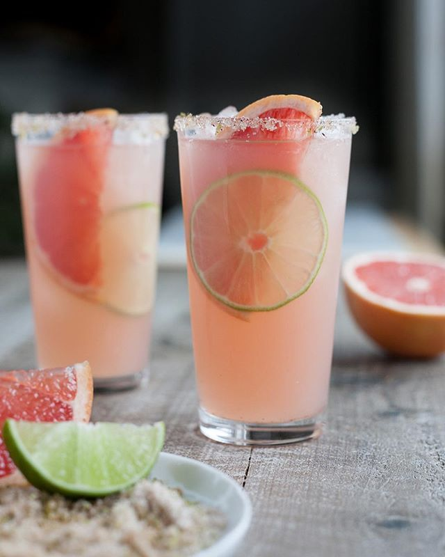 Grapefruit-Lime Tequila Cocktails