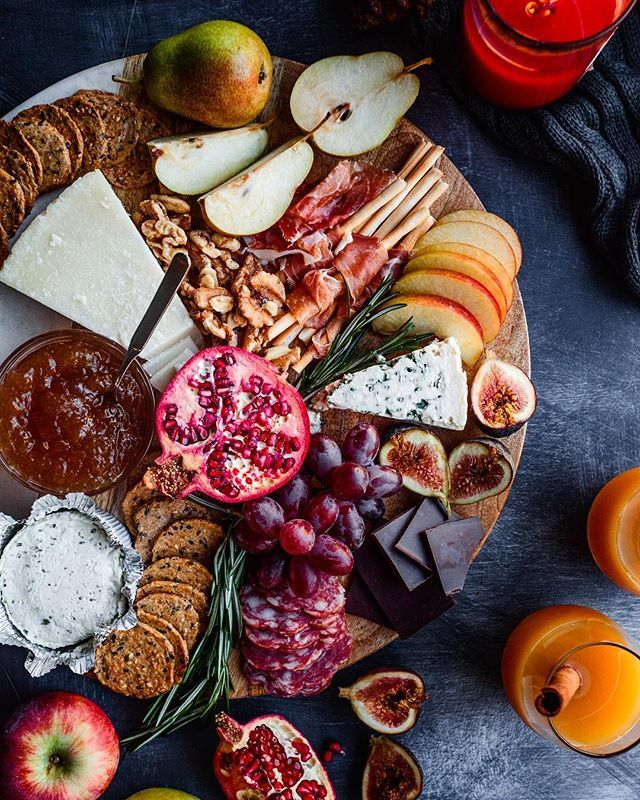 Fall Charcuterie Board with Homemade Apple Butter