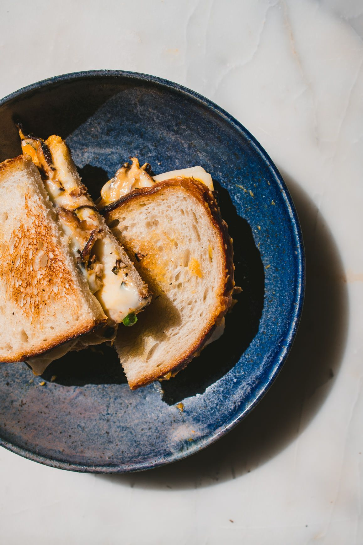 Pumpkin and Shiitake Melt