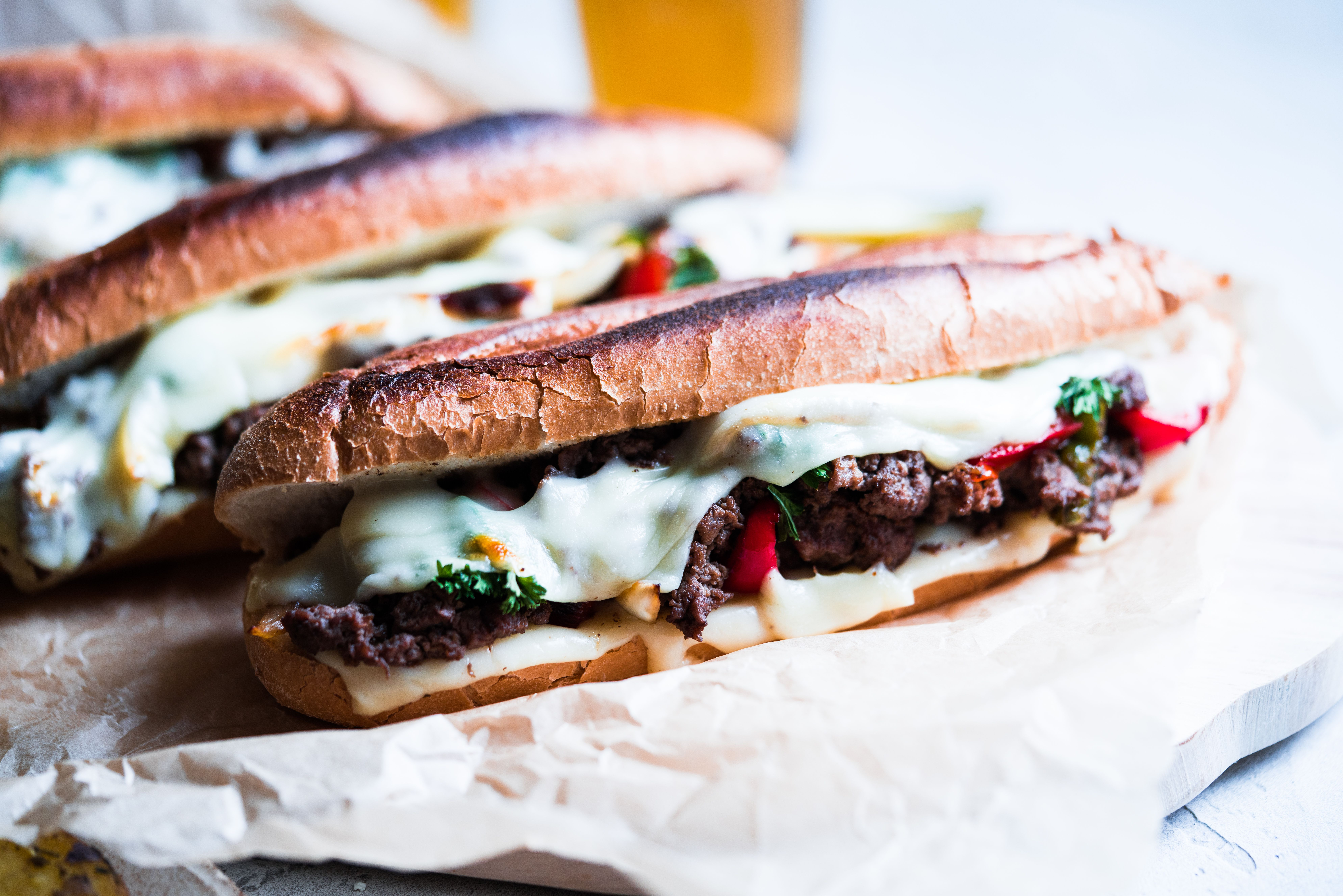 Spicy Philly Cheesesteaks