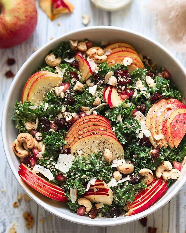 Harvest Kale Caesar Salad