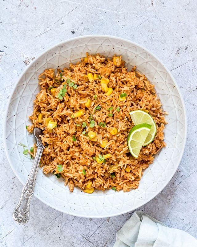 Spicy Basmati Rice With Corn