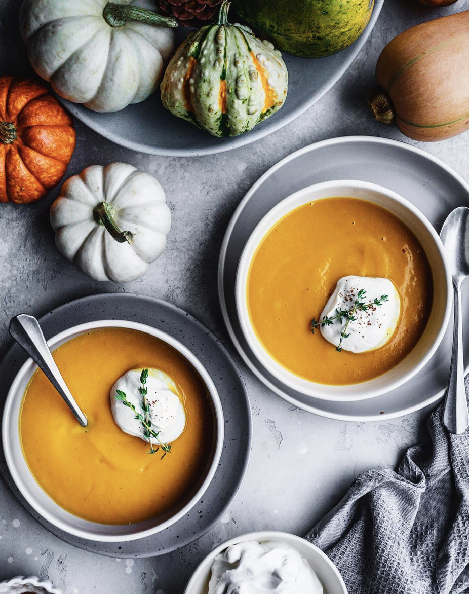 Creamiest Butternut Squash Soup