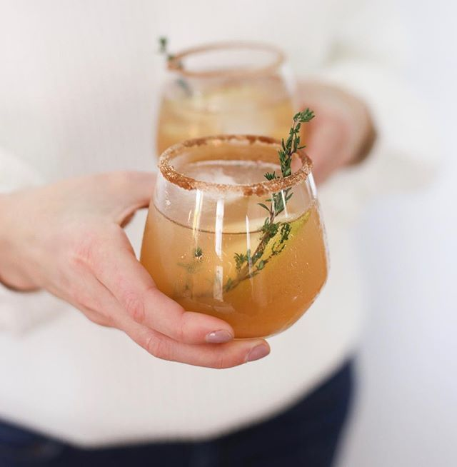 Bourbon Pear Punch