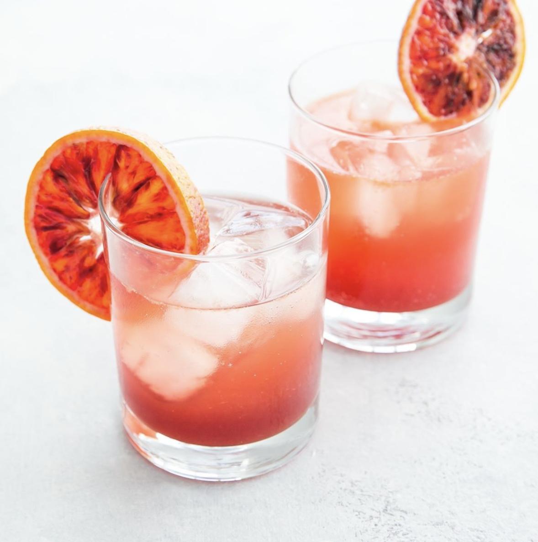Blood Orange Gin Spritz