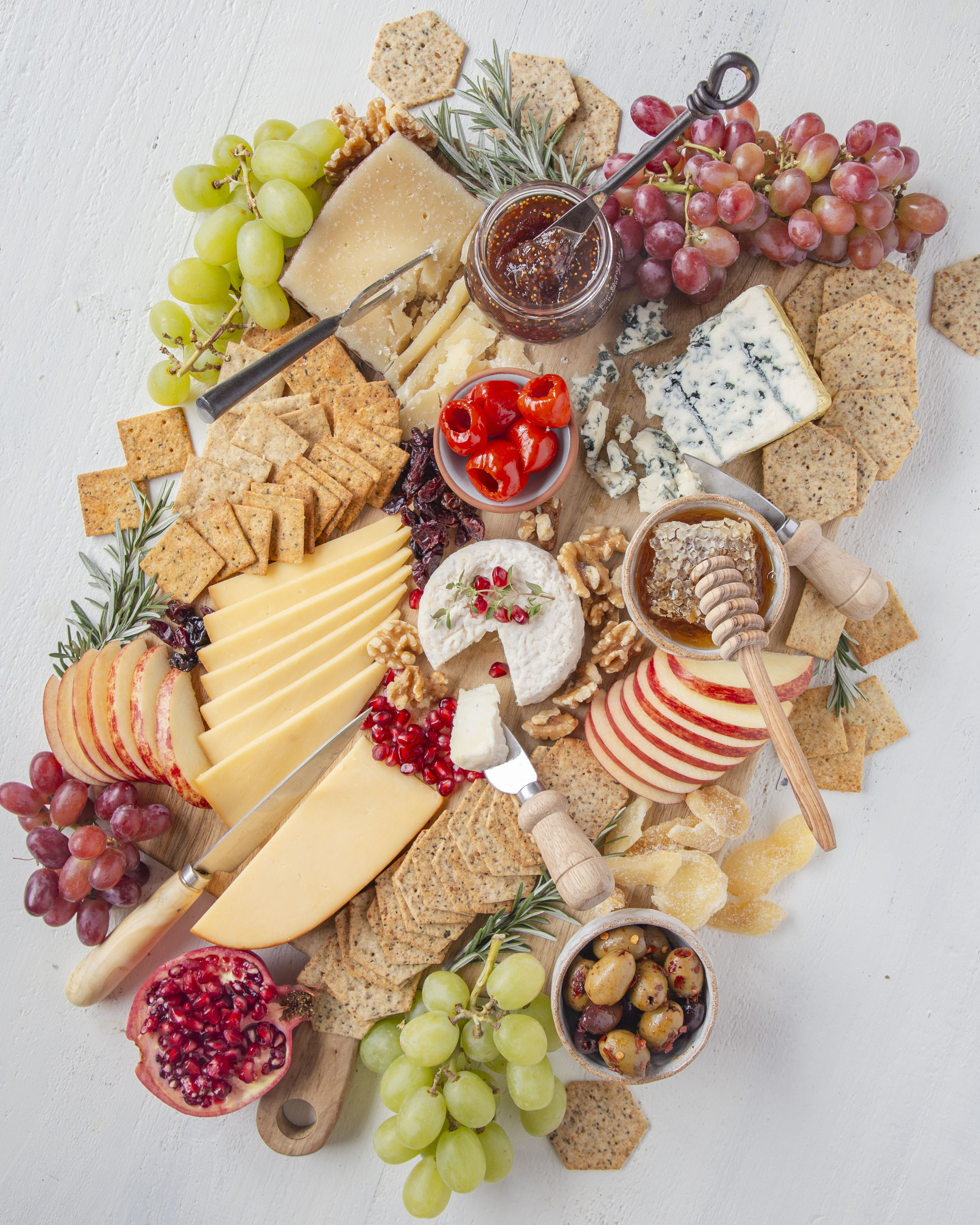 Cheese Board With Gluten Free Crackers By Thefeedfeed Quick Easy Recipe The Feedfeed
