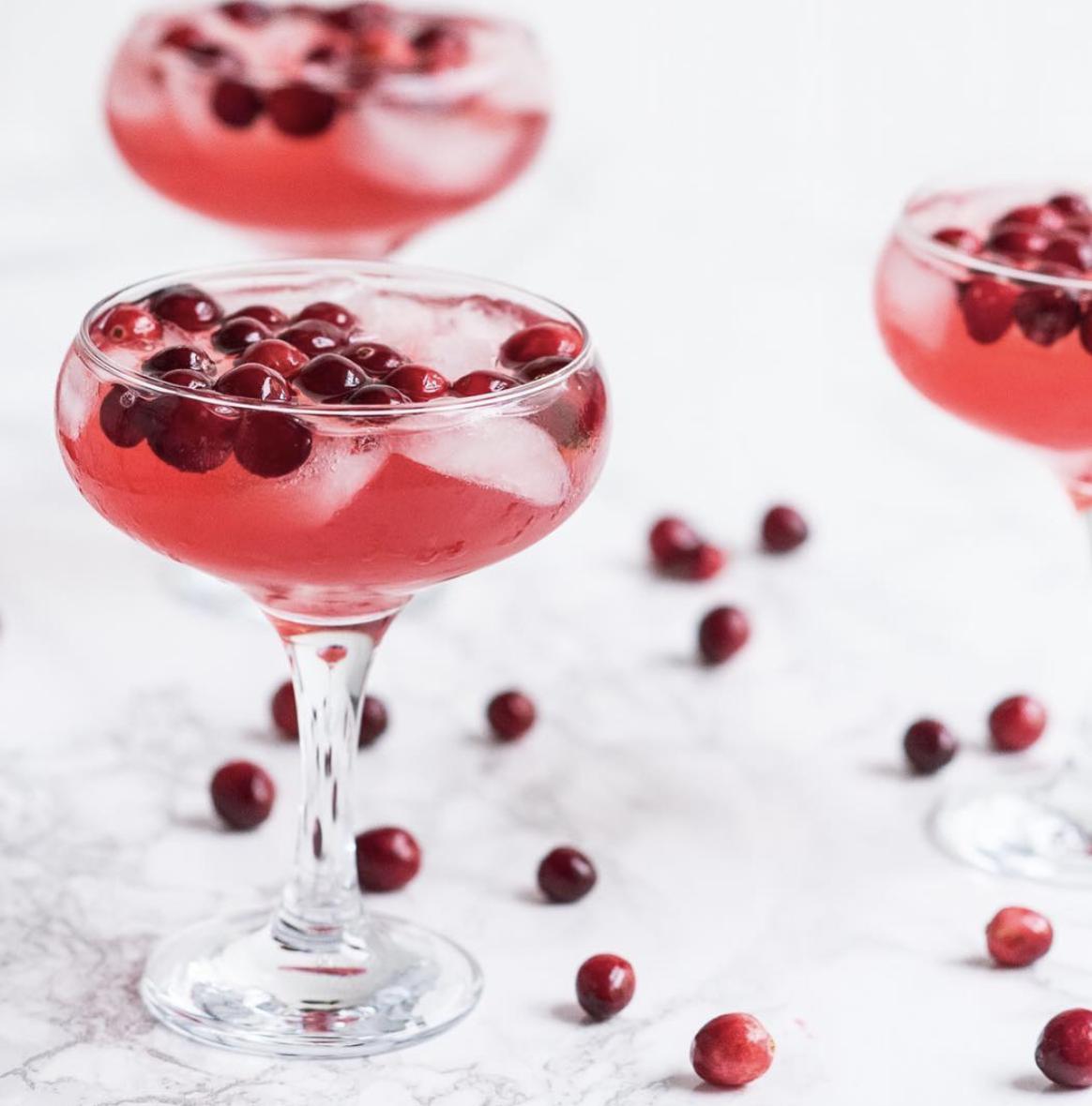 Cranberry Vodka Sparkler