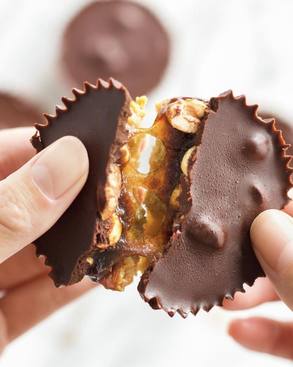 Caramel Chocolate Peanut Butter Cups
