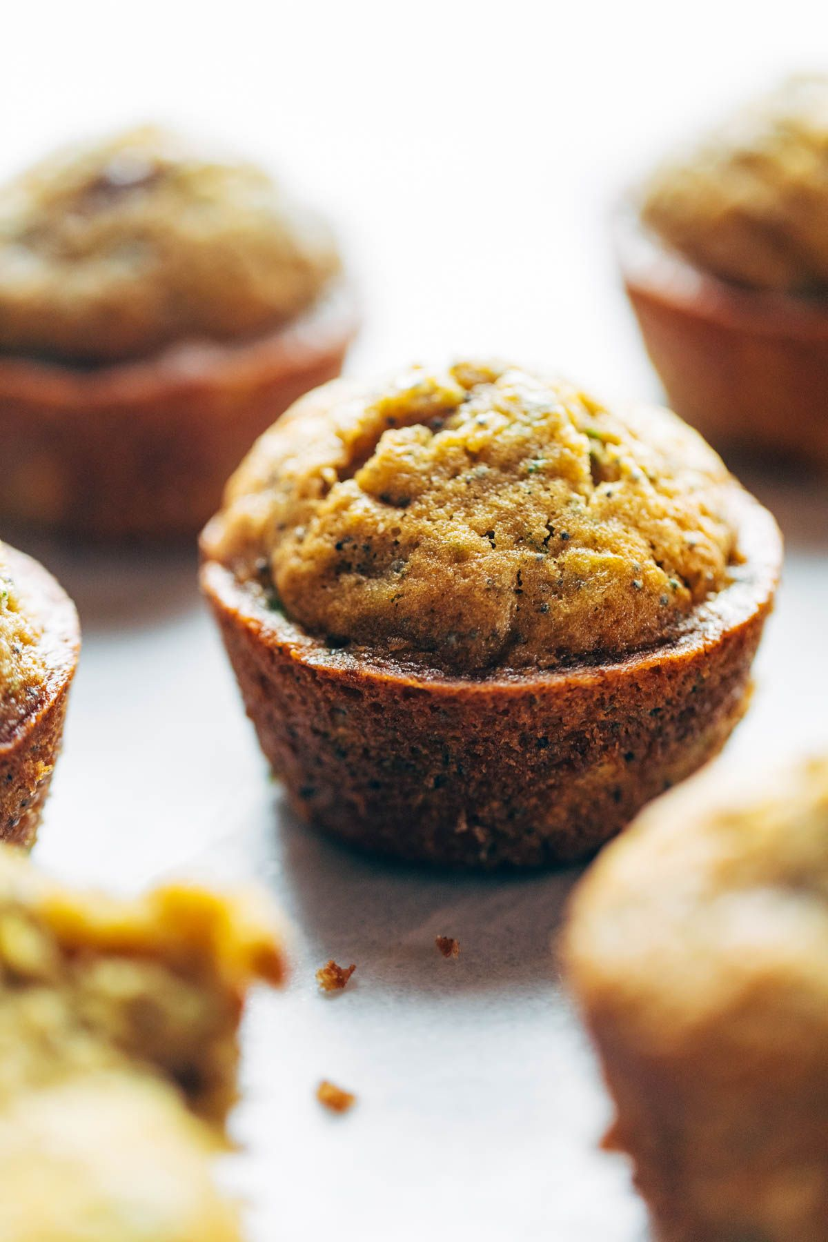 Lemon Poppyseed Muffins with Zucchini