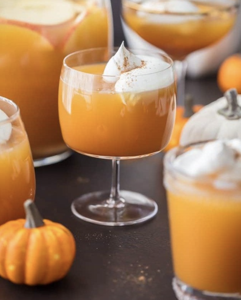 Apple and Pumpkin Punch