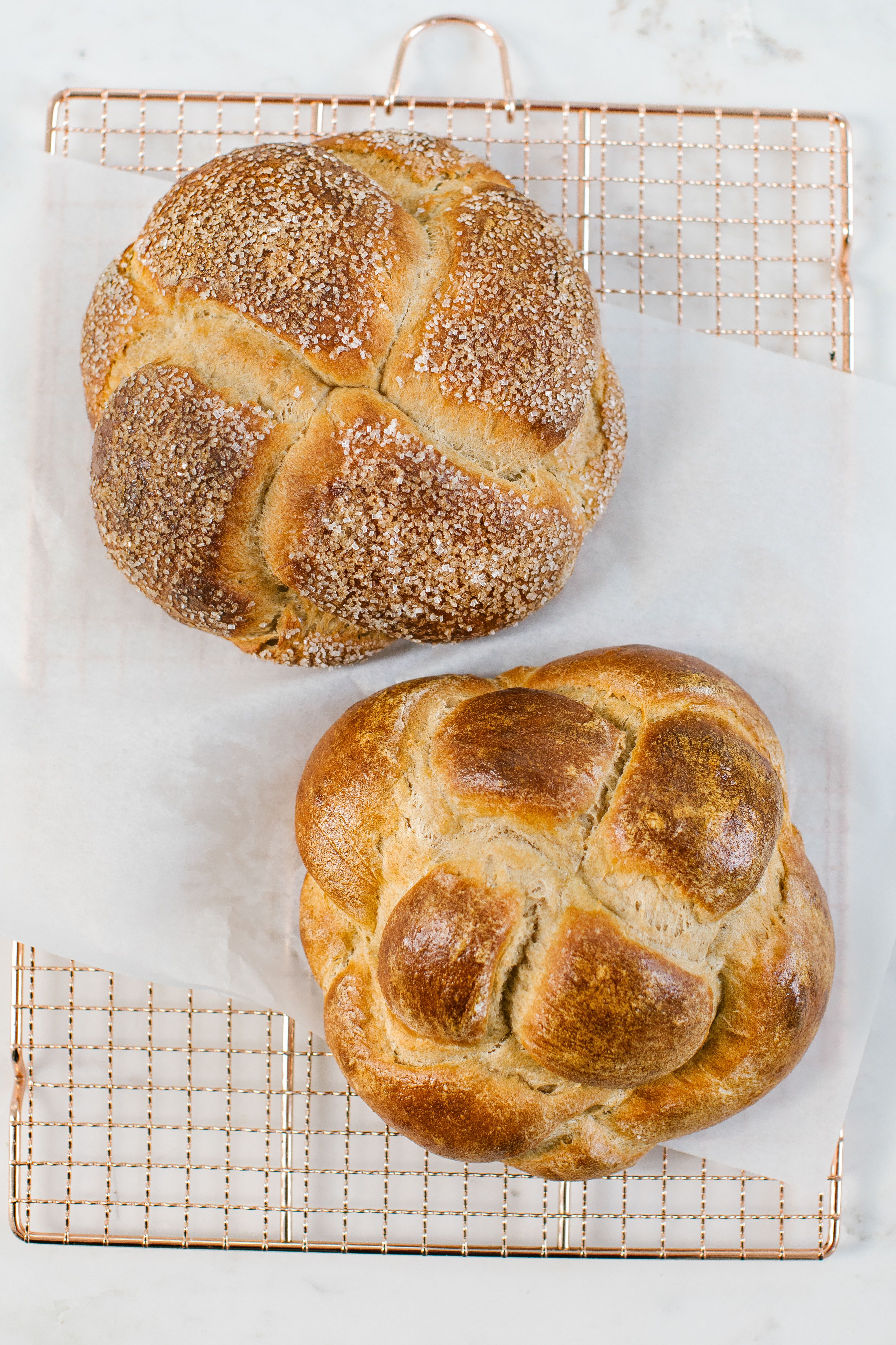 Four Strand Round Braided Challah