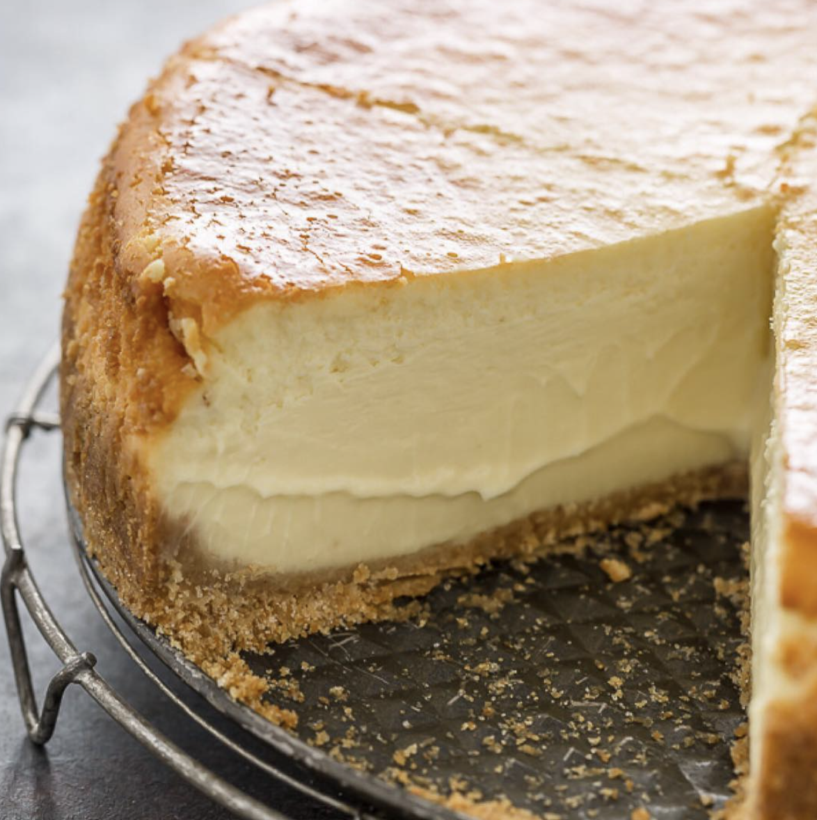 Creamy Cheesecake with Graham Cracker Crust by bakerbynature | Quick & Easy  Recipe | The Feedfeed