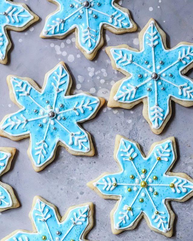 Star Anise Snowflake Sugar Cookies Recipe The Feedfeed