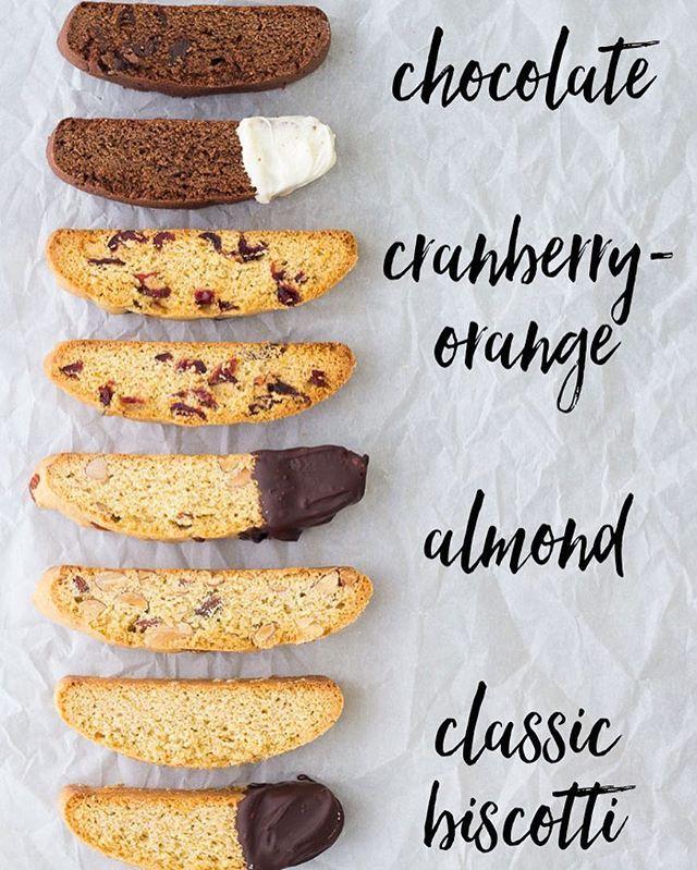 Biscotti 8 Ways