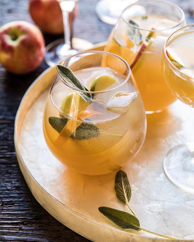 Sage Ginger Apple Spritz