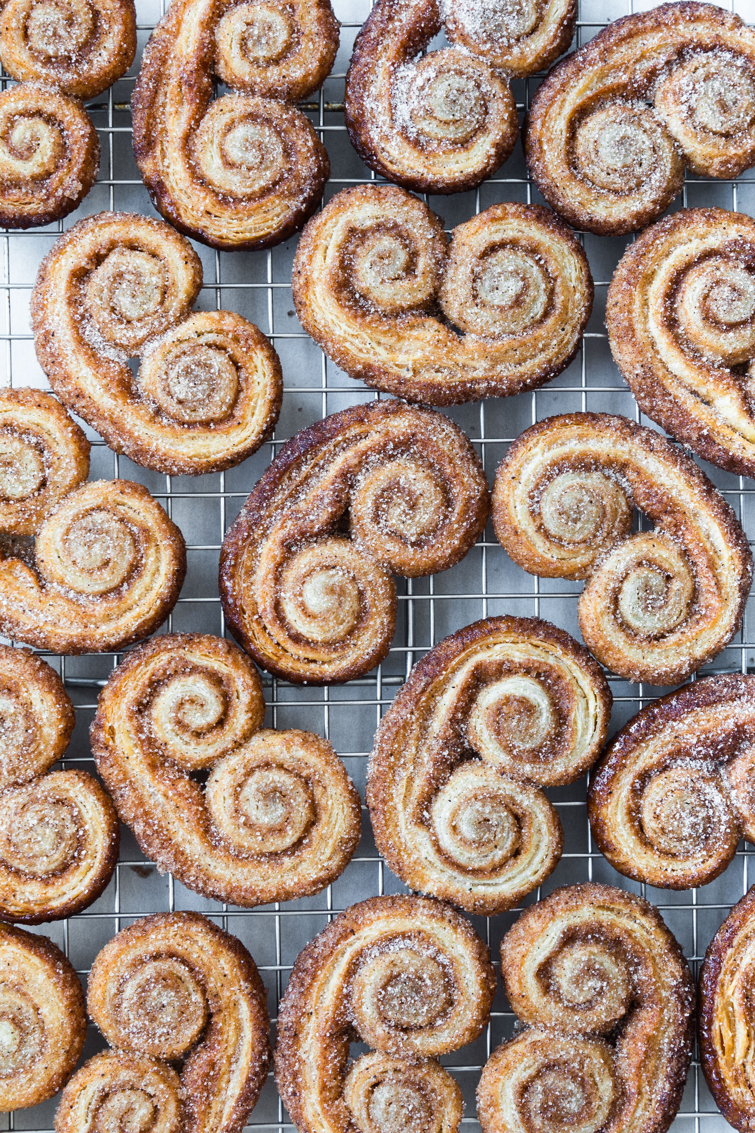 Spiced Rough Puff Palmiers