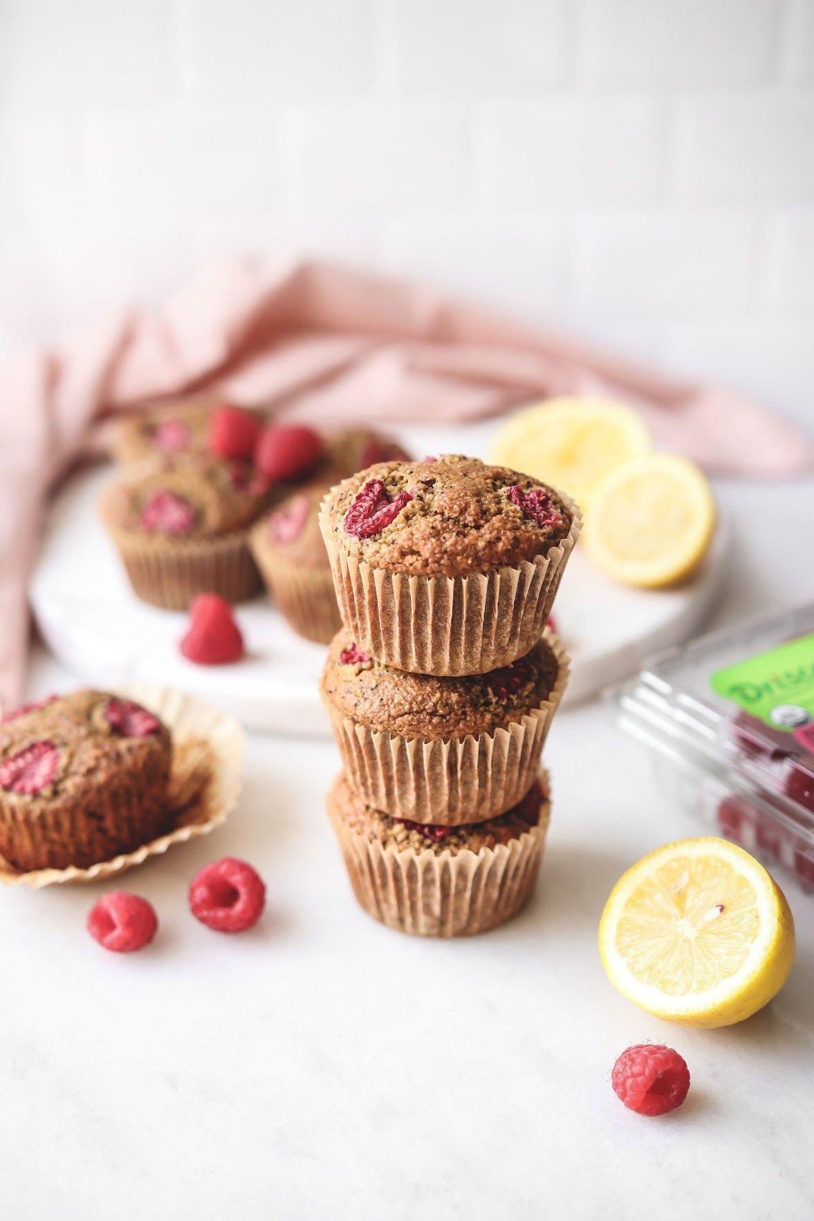 Raspberry Lemon Poppyseed Muffins
