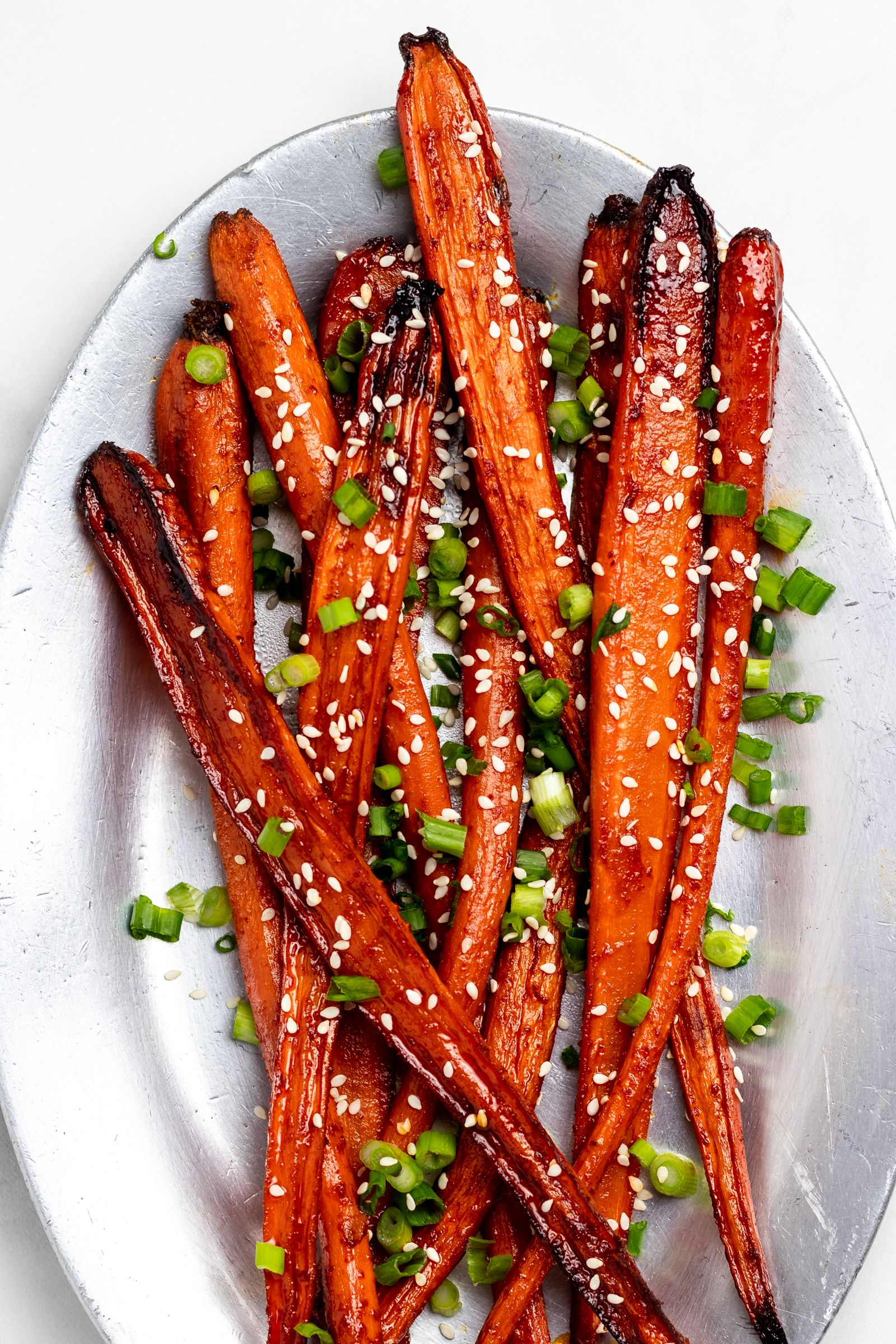 Roasted Carrots with Gochujang