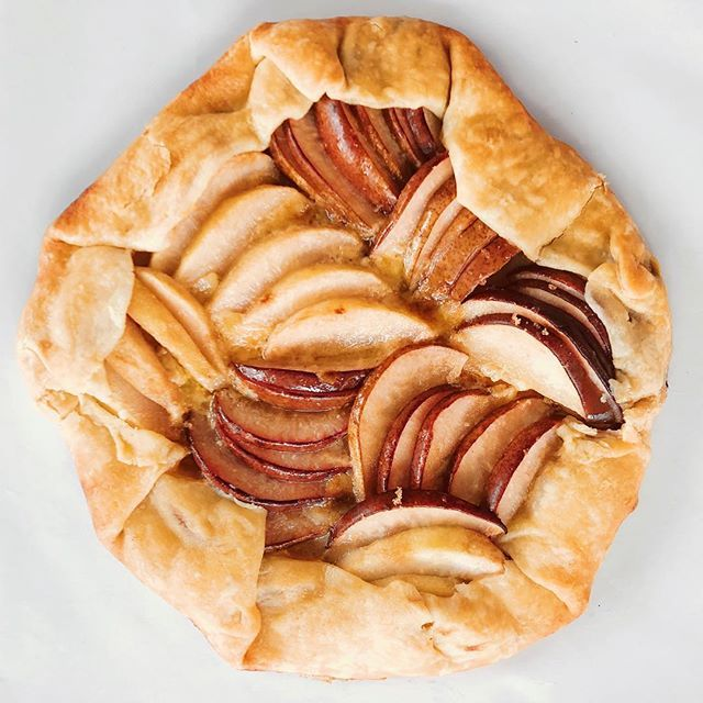 Pear and Brie Galette