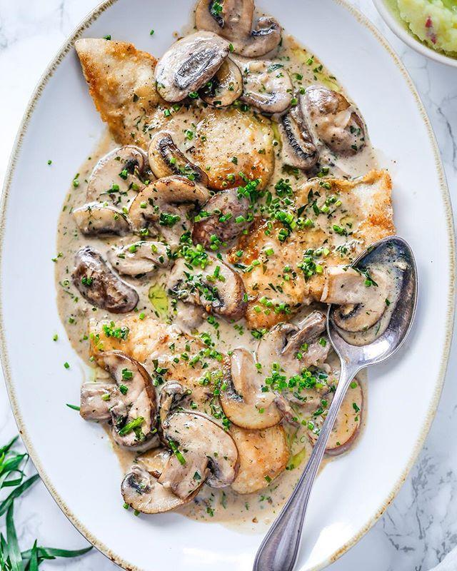 Creamy Tarragon Chicken With Mushrooms Recipe By Paleo