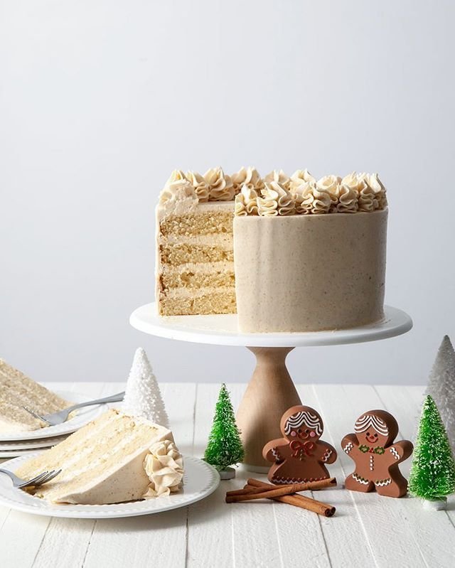 Cinnamon Praline Crunch Cake