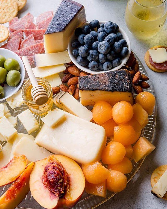 Easy Summer Cheese Board