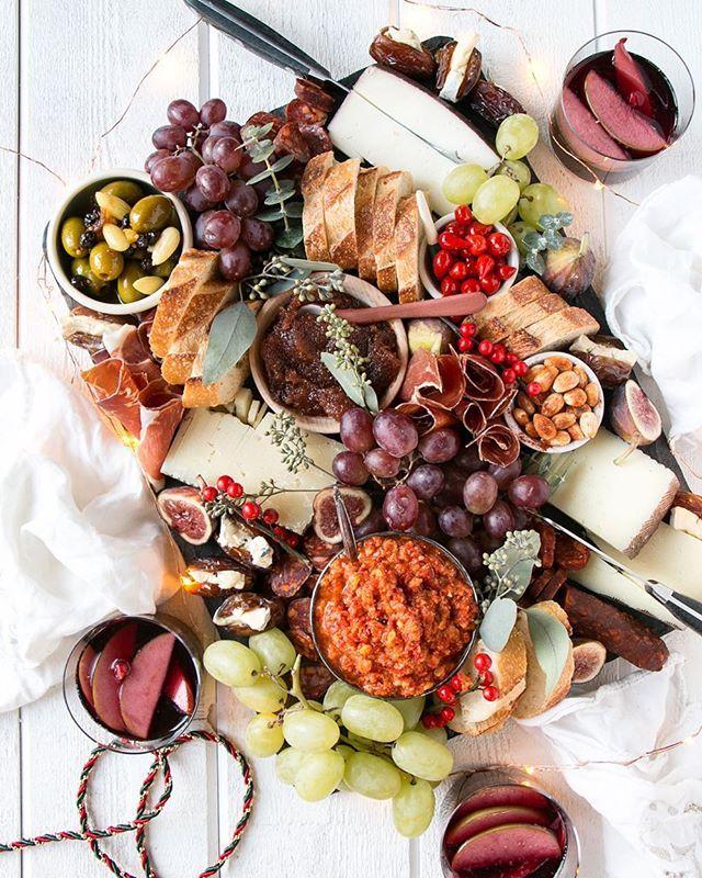 Spanish Inspired Cheese Board