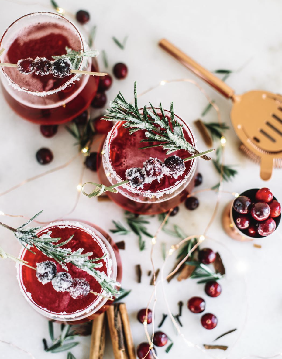 Spiced Cranberry Whiskey