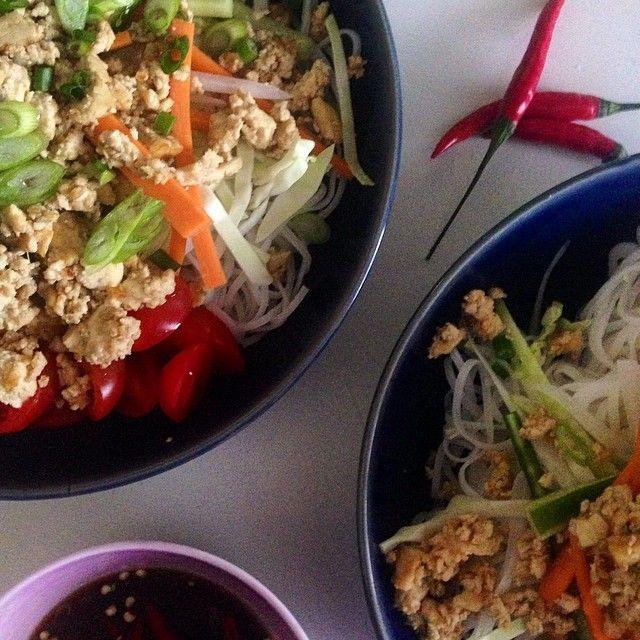Spicy Thai Salad with Tofu