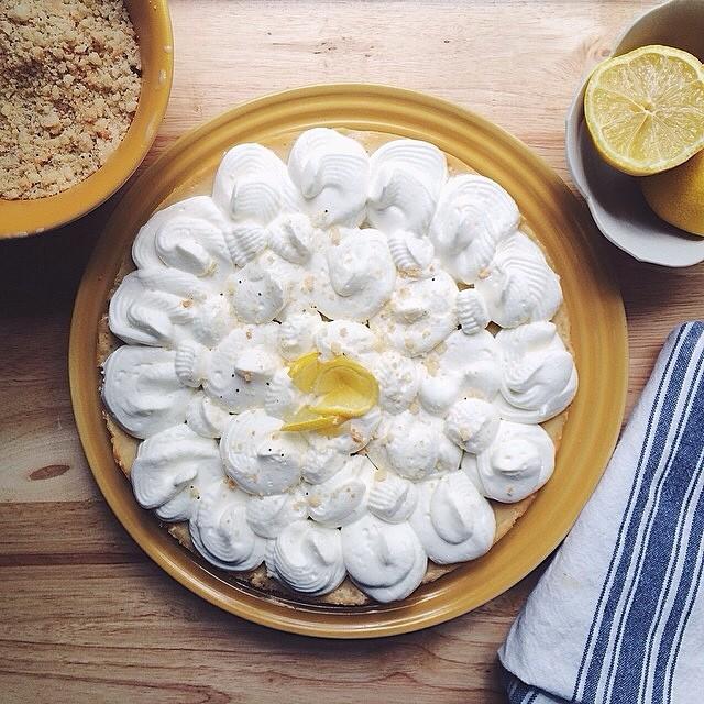 Lemon Meringue with o The Meringue