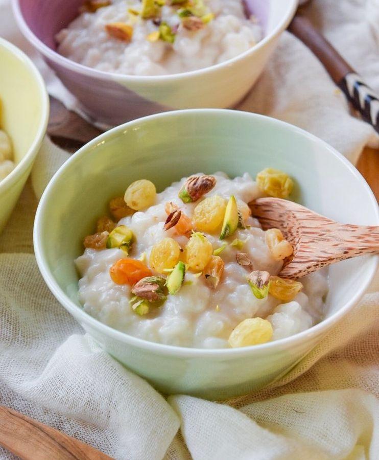Creamy Chai Spice Rice Pudding
