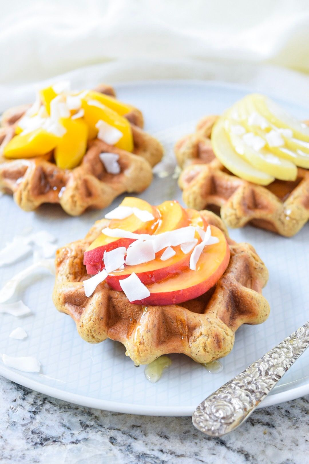 Mini Maple Waffles