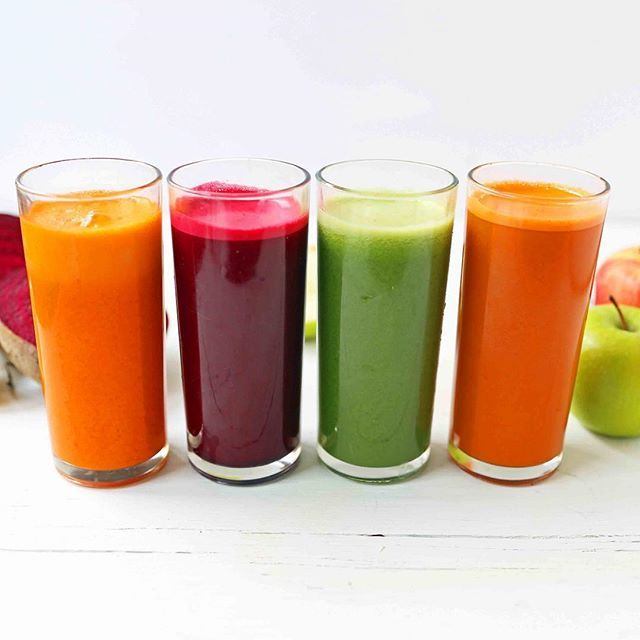 Fresh Juice 4 Ways