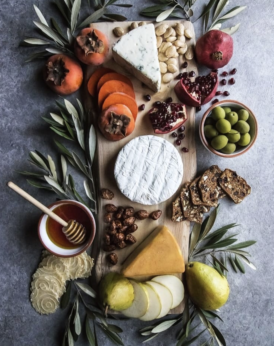 Fruit, Nut and Cheese Board