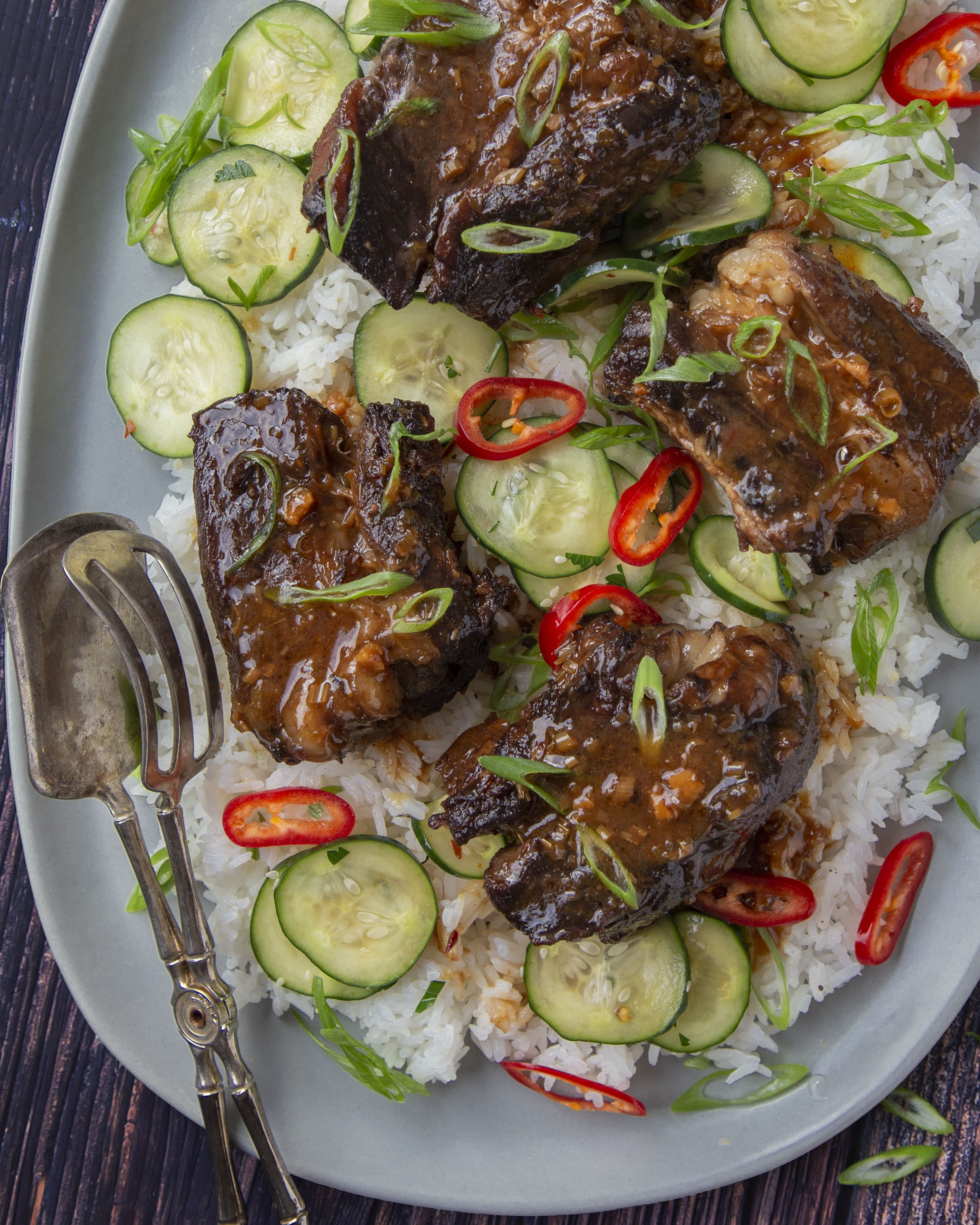 Weeknight Asian Style Instant Pot Short Ribs