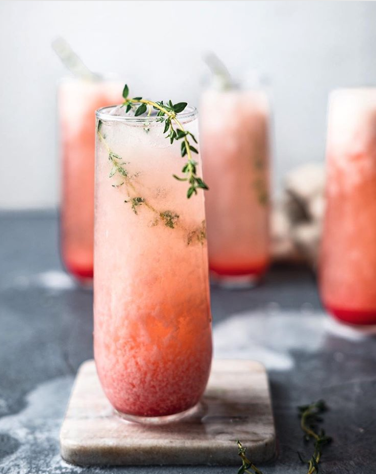 Grapefruit Coconut Colada